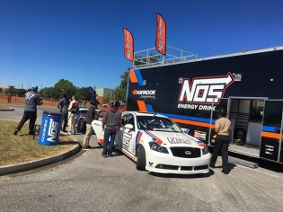 We had an awesome day with @nosenergydrink and all of the troops here at the Naval Air Station in Pensacola! We gave nearly 100 ride alongs and one heck of a show for everyone that came by to watch! Thank you for your service!