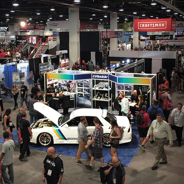 to last week's #SEMAshow.  Check GReddy.com for the link to our blogspot report on our SEMA show announcements...