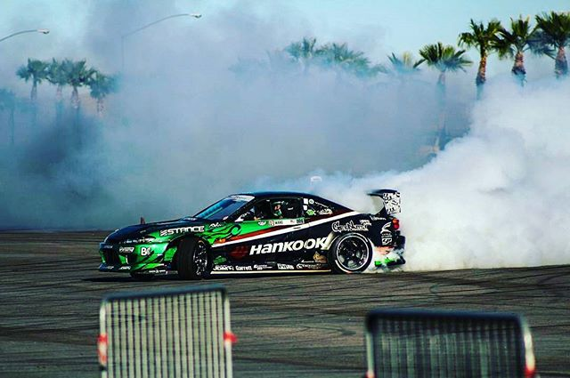 Great shot of the s15 from the last @vegasdrift event. 📸: @Sixk_Individual