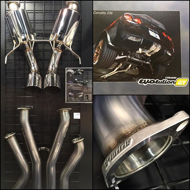 On display in our booth is our new exhaust for the  Look for more American applications to come... Mustang, Camaro, Focus