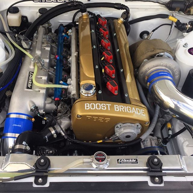 The under the hood of our R32 Sedan project
