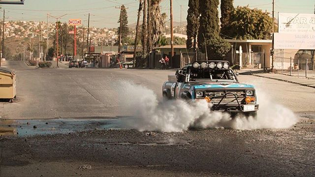 @chrisforsberg64 tearing the @valvoline Baja truck through the first few miles of the course. Such a fun experience overall. Hoping we are heading back for 2017. @valvoline
