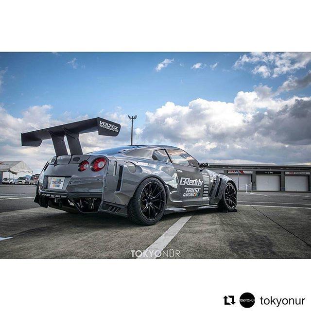 Debuting at this year's -  @tokyonur ・・・ New Post→ Tokyonur.com (Link in bio) ・ Daigo Hunter... // Return of The GReddy [Masato Kawabata] Nissan GT-R GReddy 35RX Spec-D 2017 ・