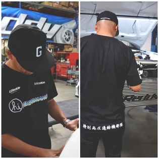 HI Performance @in4mation_ X @greddyracing Tees launching tomorrow in #in4mation stores and online #shopgreddy.com #in4motors #hawaii #greddy #japan