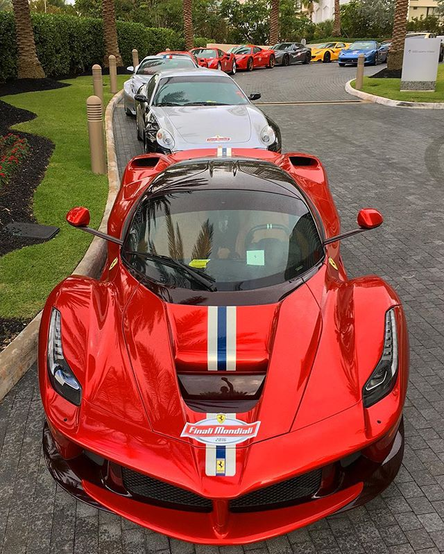 Last week's Ferrari Rally was a lot of fun. 69 Ferraris over 3 days from Miami to Daytona to join the big group for the World Record attempt.