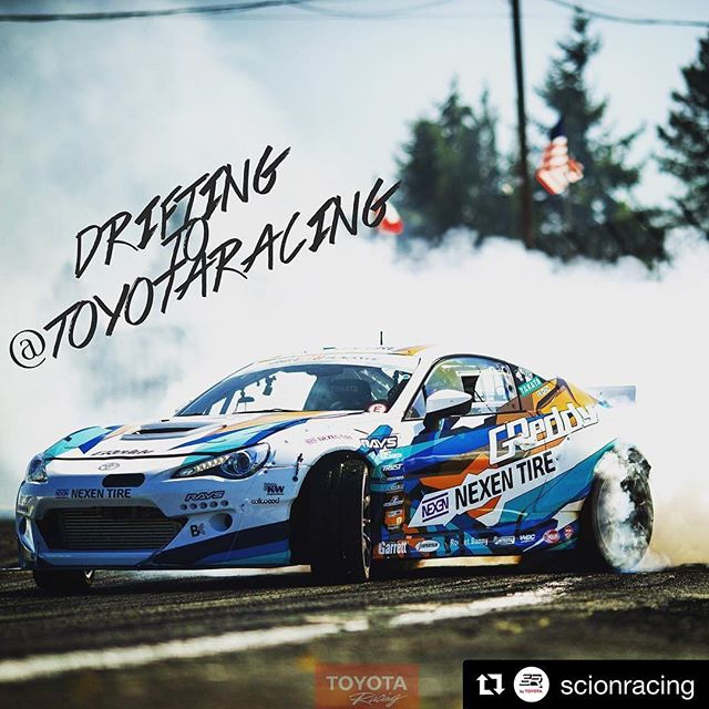 "@scionracing ・・・ Next week, our Scion Racing and @toyotaracing pages will be running ""tandem."" Now you can enjoy the best of Formula D. and Toyota Racing in one place! Welcome to #ToyotaNation."