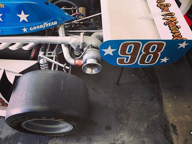 1977 Evel Knievel Agajanian Special Indy Car.