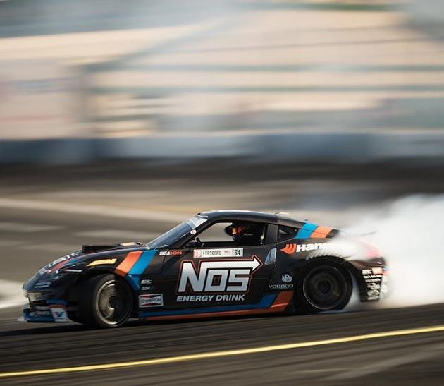 @chrisforsberg64 ready to hit the #formuladrift season! #formulad @nosenergydrink @hankookusaracing