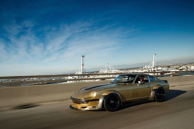 @thespeedhunters sent out @larry_chen_foto and @lusciousy to capture my Datsun sunbathing by the beach. Click the link in profile to see the full article.