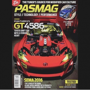 Check out the latest issue of @pasmag with a cover and full feature of the #GT4586. @gumout @huddyracing @donutmedia @bcracingna @optimabatteries @vibrant_performance @vpracingfuels