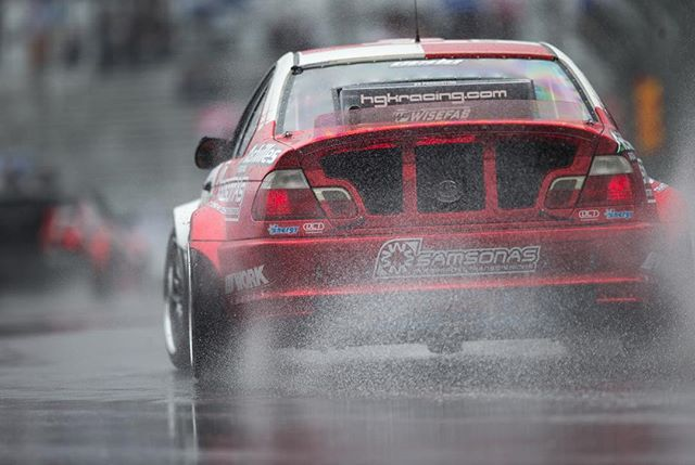 Drifting in the rain  @hgkracingteam | Photo by @larry_chen_foto