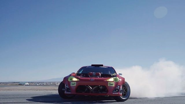 track day video from @donutmedia Is live. Hit the link in my profile for more action as @chrisforsberg64 joins the party with his new Twin Turbo Party Car! @gumout @huddyracing