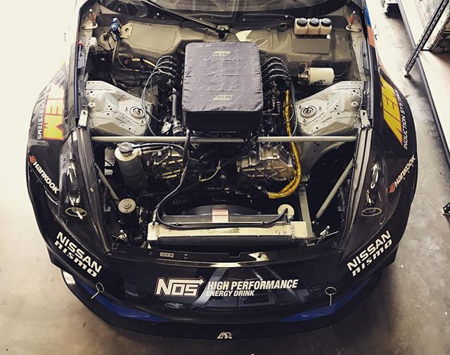 Looking back at my VK56 powered @nissan 370Z that I drove to another championship finish. This power plant has been great to me over the years but I am excited for my new twin turbo V6 engine for 2017!