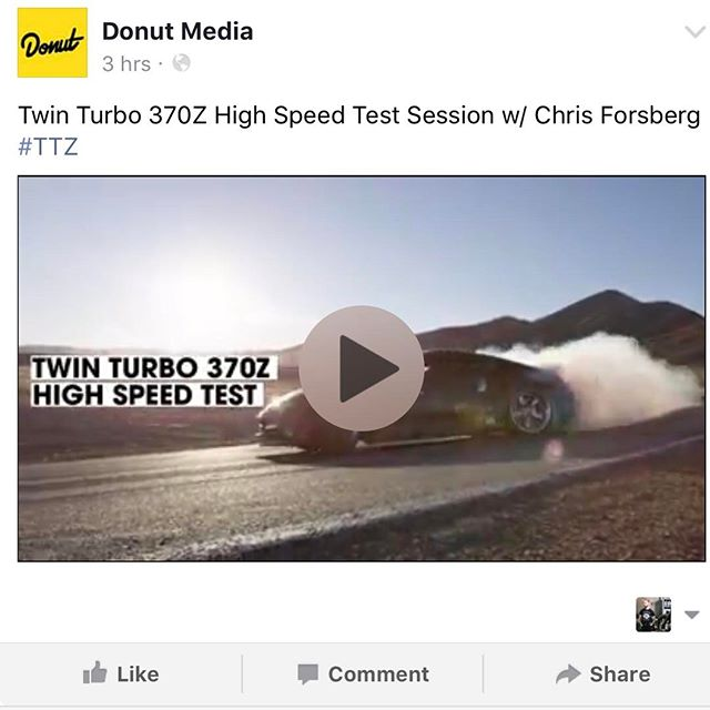 No camera tricks, no music, just straight up RAW drifting in my carbon twin turbo 370Z. Link in my profile! : @donutmedia