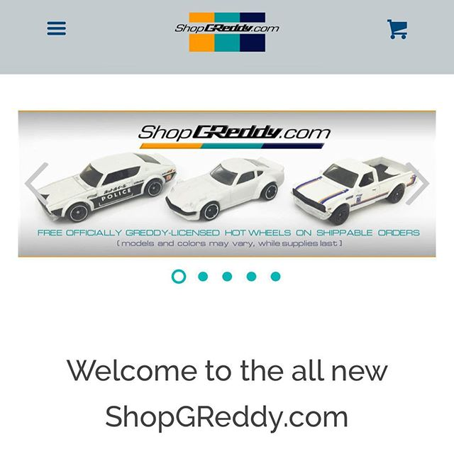 Our new Official GReddy Onlinestore is now live, #ShopGReddy.com  New cleaner look, easier to navigate on both desktops and mobile devices, and  quicker check outs.  Order now and get a FREE GReddy-licensed with in-stock orders.  We offer FREE shipping on in-stock systems (lower 48states only, other location receive a partial credit)