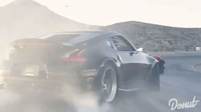 Perfect transitions chasing down the GT4586. : @ryantuerck : @donutmedia