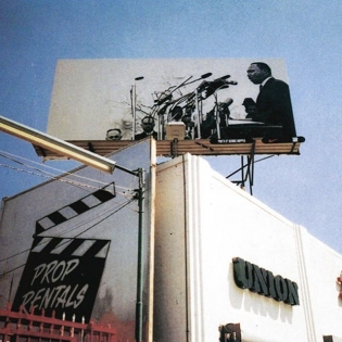 #Repost @undefeatedinc ・・・ Dr. Martin Luther King Jr. by Dennis Hopper Billboard on La Brea Ave. 2003.