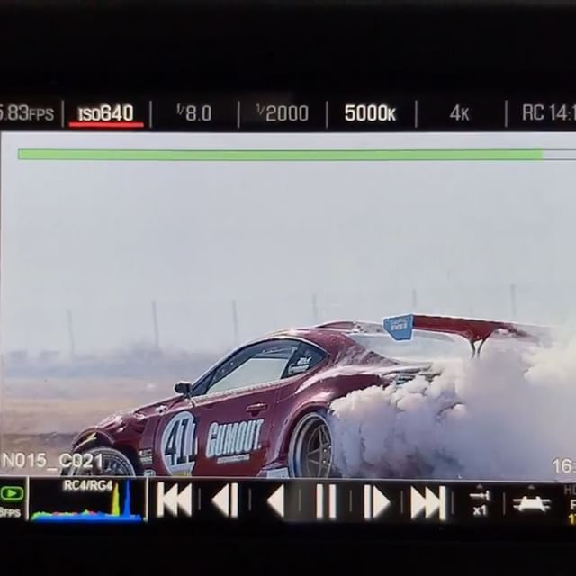 The action edit from our shoot day with @donutmedia should be dropping very very soon. Raw red clip from @yaer_one out at streets of willow. @gumout @blackmagicshine @huddyracing @bcracingna @optimabatteries @vibrant_performance