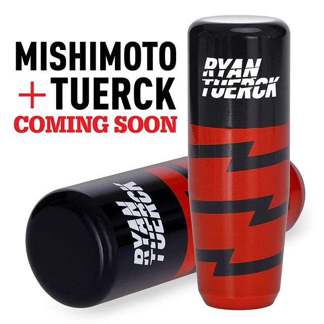 The new @Mishimoto X Tuerck shift knob is releasing any day now. Stay tuned for more details if you're keen to get your hands on one.