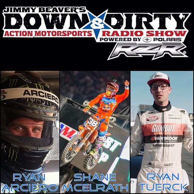 Tune into the @jimbeaver15  Down & Dirty radio show. I'm going live at 1pm EST, that's in 5 minutes. Link is in my profile. #down&dirty