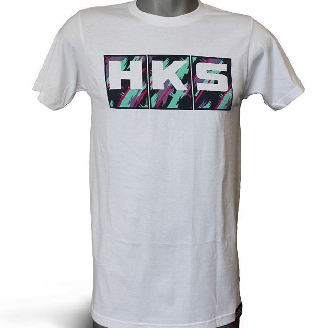 Do you want to proudly display the livery every day? Get an exclusive T-shirt like this at http://www.hksusa.com/hks-t-shirt-white-s-m-l-xl-xxl/ or from any HKS Pro Dealer.