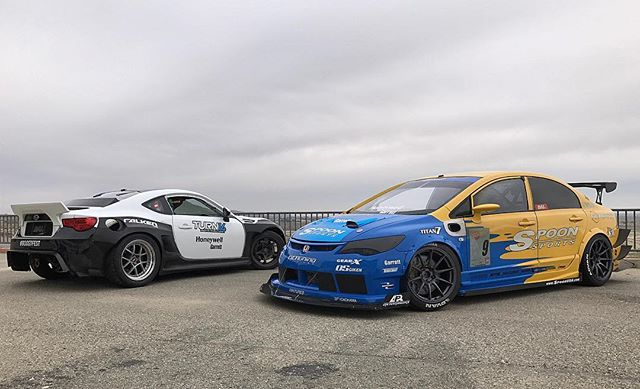 Had a blast drifting and gripping at yesterday. Thank you @turbobygarrett for having us!