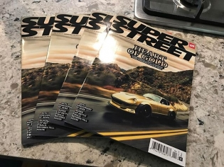 My Datsun 280Z is on the cover of @SuperStreet! So pumped to see this car come to life and for it to have the impact that it did. Thank you to everyone that was involved! #GoldLeader