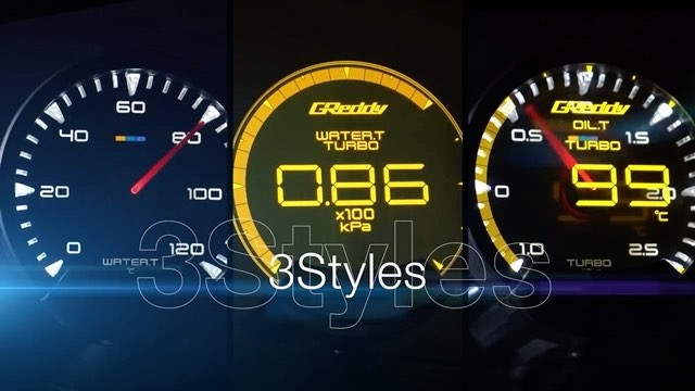 The first GReddy Sirius Meter Series will begin to arrive state-side late March.  See greddy.com for more details on these JDM spec. (HUD) (analog) and (Combo sets) * Sirius Control Unit is required to operate (upto 3 Visions & 8 Meters)
