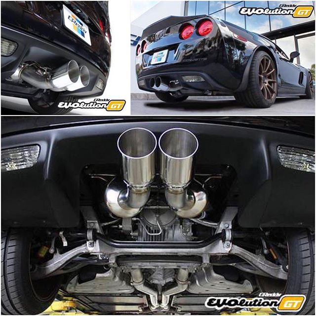 The lightweight 76mm dual muffler GReddy exhaust for the C6 Corvette Z06 is almost here.  Pre-order yours today!