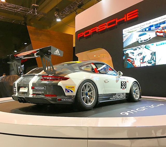The new @porschecanada GT3 Cup car!