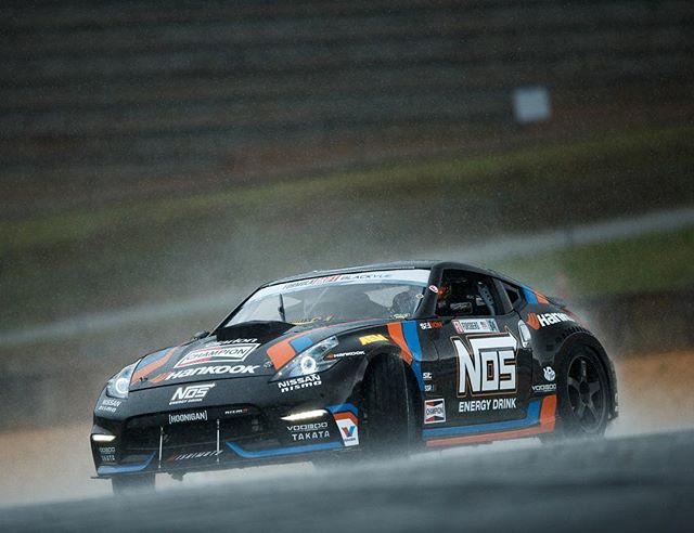 There is no bad weather for drifting @chrisforsberg64 @nosenergydrink @hankookusaracing