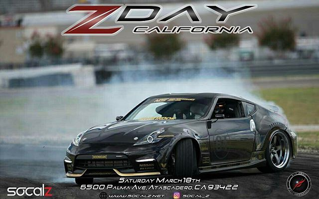 2 weeks until @zdaycalifornia_official! Come out and hang out with all the other Z owners and check out my @fastintentions powered @nissan 370Z!