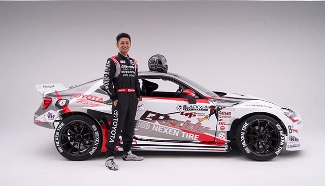 @teamgreddyracing unveil 2017 Livery for the Formula Drift Season. @kengushi @nexentireusa @blackvueofficial @toyotaracing