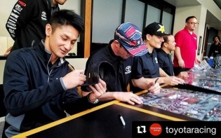 @teamgreddyracing's @kengushi and the rest of the @toyotaracing #formuladrift team will be at Sunday's #NASCAR race at @autoclubspeedway Follow our new IG @teamgreddyracing for more tomorrow.