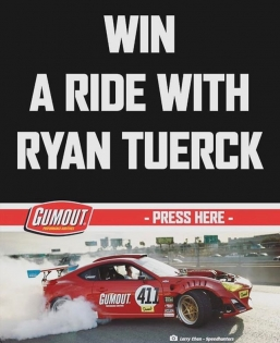 Alright guys this is it. Win a ride along in the #GT4586 by downloading the new @formulad app and entering to win. The ride along will be on Friday. Find out all the details when you enter. 🤘🏻🤘🏻🤘🏻 #RT411 @gumout @blackmagicshine @bcracingna