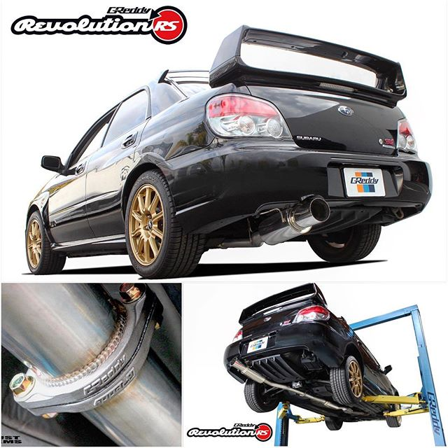 "Another new exhaust arriving this month is our non-tapered  76mm (3"") cat-back exhaust for the 2002-07 STI... This system also features our new and improved GReddy cast-stainless-steel flanges.  See greddy.com or contact an authorized GReddy dealer for more details and a sound clip..."