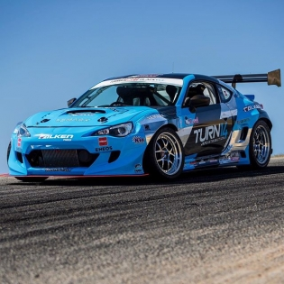 BOOM! @daiyoshihara + @turn14 @falkentire Subaru BRZ for the 2017 Formula DRIFT season #fdlb #formuladrift #formulad