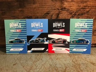 Check it out! Limited edition @bowls x @formulad pins. #meandmyhomies Only available at #bowlsla in Little Tokyo. Get'em while they last. @mattfield777 @kengushi @odidrift