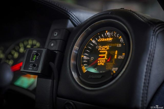 Cool shot of how Top Secret's Smokey Nagata uses his gauge in one of his latest GT-R projects.  Repost  @tokyotuner  arrive state size later this month!  Pre-order yours  now, via an Authorized GReddy Dealer or #ShopGReddy.com