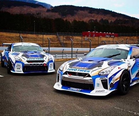 Double trouble for the rest of the 2017 field... not one but two Toyo Tire Drift Glion 35 RX SpecD GT-Rs   2000+hp  Version 2 & 3