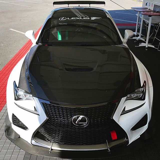 Getting a ride along around the Long Beach Grand Prix course in this @lexususa RCF GT3 car with @scottpruett01 behind the wheel. Should be pretty bad ass. I mainly only drive turns 9-11, haha.