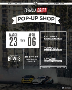 I'll be at @bowls Thursday 3/23 from 7-9pm...come hang with me and check out the first day of the @formulad pop-up shop!