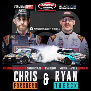 In a few minutes, my buddy @ryantuerck and I will be taking over the @formulad Instagram account to show you behind the scenes of our racing program as we prepare for round 1 this weekend so my personal account may be a little quiet for the next few days. #instagramtakeover #ThisIsChrisForsberg64