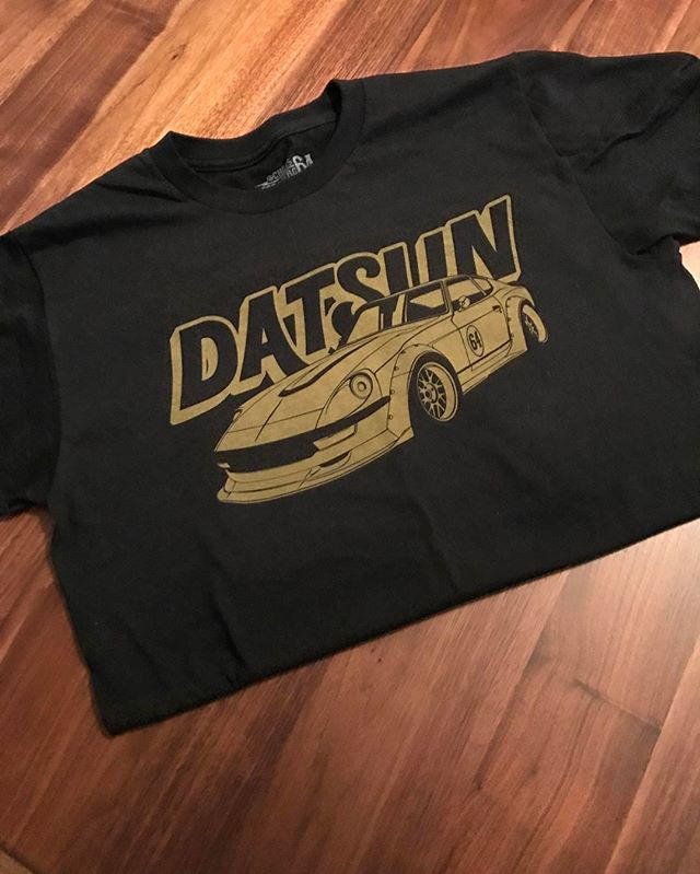 Last day of the pre sale of my Datsun t-shirt. This shirt is high quality, tagless, and super soft with a water-based style print for a lightweight vintage feel. shop.chrisforsberg.com