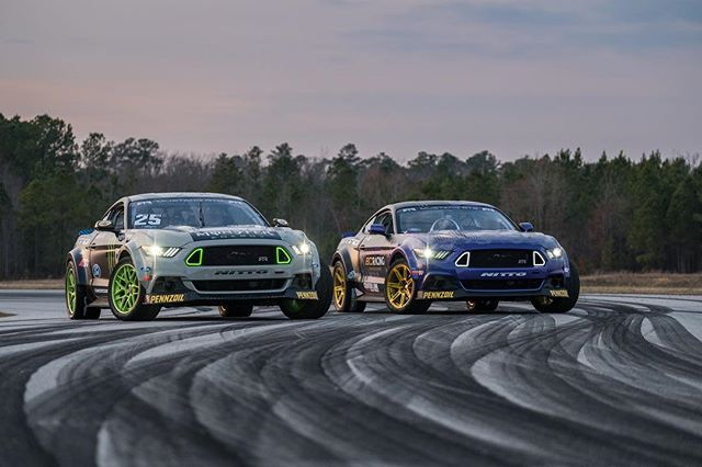 RTR Motorsports Announces 2017 Formula Drift Team with @vaughngittinjr and @chelseadenofa as Second Driver in new Ford Mustang RTR