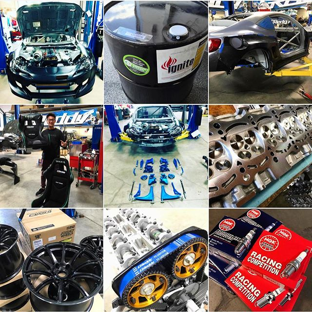 Some of the pieces of our 2017 Championship puzzle are starting to come together.  @kengushi @nexentireusa @toyotaracing  is in just 3weeks!
