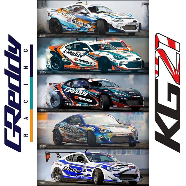 The new 2017 look for @nexentireusa @toyotaracing will be revealed soon... before that, let's take a look back at our evolution at #FDLB.  The 2017 Championship starts in just 2 weeks!!! @BOOST_BRIGADE