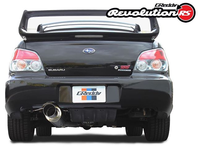 "The new 3"" cat-back exhaust is almost here!  Contact your favorite authorized GReddy dealer or see greddy.com for more..."