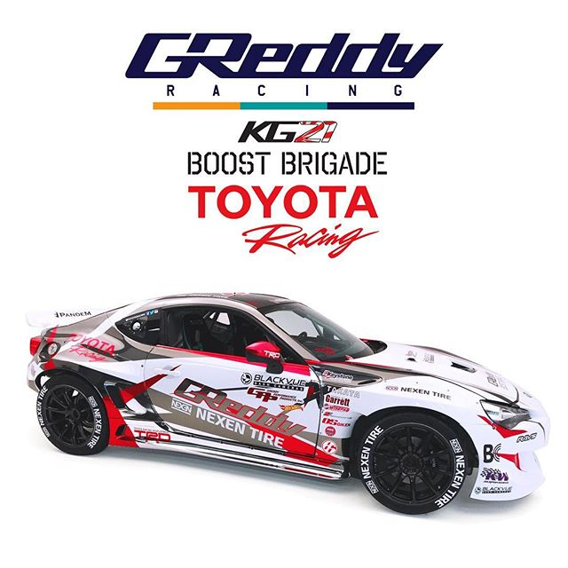 We are just 1 week from the start of the @formulad season… Follow our new IG account, @teamgreddyracing for more in-depth coverage and behind the scenes from @kengushi and the @toyotaracing with @nexentireusa…  @BOOST BRIGADE