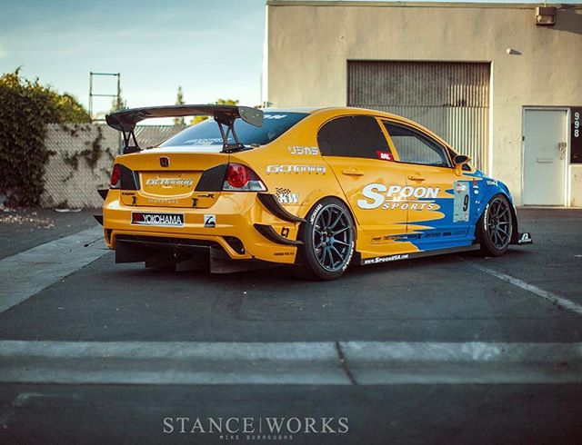 Check out this great article about the @spoonsportsusa FD2 by @stanceworks  @spoonsportsusa ・・・ Article up! Link available on our Facebook page. ・・・ The @spoonsportsusa time-attack FD2 Civic piloted by @daiyoshihara is now live on @stanceworks. Click through to their bio for the in depth article with more awesome images.